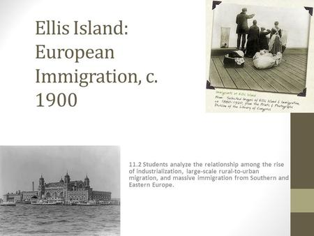 essay on ellis island Ellis island is located on the east coast in new york city, new york and is also right across the statue of liberty this location gave many immigrants angel island, the immigration station on the western part of the untied states, was located near san francisco and really brought down the morale of.