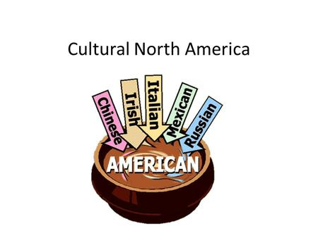 Cultural North America. Colonization: Colonization of North America first started in the late 1500's into the 1700's by the Europeans. Many people trace.