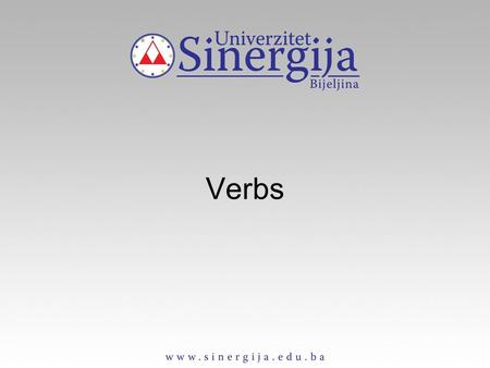 Verbs. A verb is a word (run) or a phrase (run out of) which expresses the existence of a state (love, seem) or doing of an action (take, play).