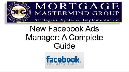 New Facebook Ads Manager: A Complete Guide. There's no avoiding it anymore Facebook has rolled out the New Ad's Manager to all marketers The more I play.
