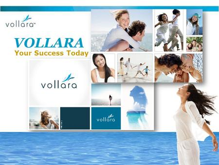 VOLLARA Your Success Today. 4 Questions 1.Do you consider the daily intake of fruits and vegetables vital to your health and wellness? YesNoNot concerned.
