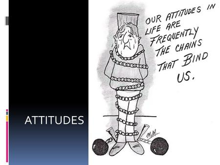 ATTITUDES. What are Attitudes?  Long lasting patterns of feelings and beliefs about other people, ideas, or objects that based in people's experiences.