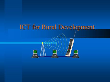 ICT for Rural Development. Topics Introduction Introduction Information Revolution Information Revolution What is ICT What is ICT Potential Uses of ICTs.