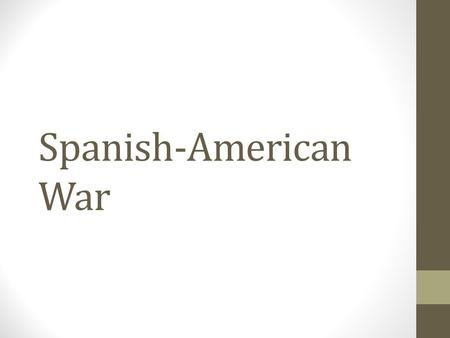 "Spanish-American War. Yellow Journalism Deceitful news articles/newspapers that exploit and sensationalize the ""truth"" in an effort to sell newspapers."