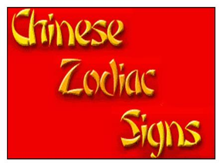 THE CHINESE ZODIAC monkey, bird, rat, snake, crocodile, rooster, cow, tiger, dragon, whale, rabbit, ox, frog, horse, snail, pig, wolf, dog, fox, goat,