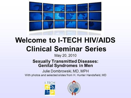 Sexually Transmitted Diseases: Genital Syndromes in Men