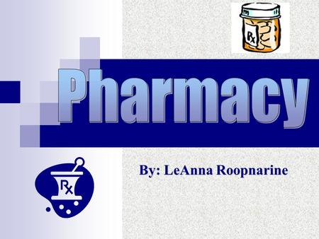 By: LeAnna Roopnarine. Basic Job Responsibilities   Consults with medical staff to advise on drug applications & attributes & to evaluate effectiveness.