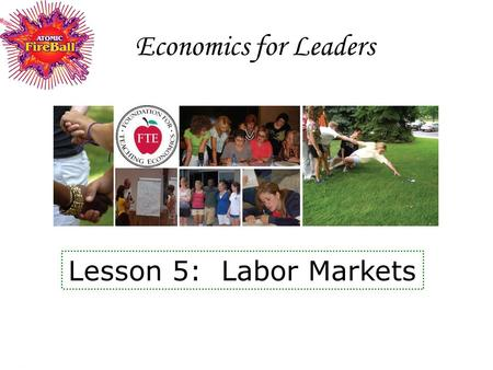 an introduction to the analysis of the labor markets Providing data, analysis, and insight about their state and regional economies and labor markets these lmi units generally provide research and tools that can be used by workforce development providers, employers, and policymakers to improve their decision.