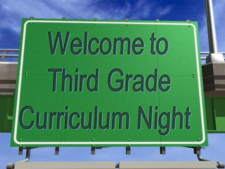 Please Check Out Our Webpage!  n.us/Third_Grade.html.