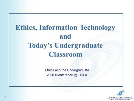 Technology Ethics in the Classroom