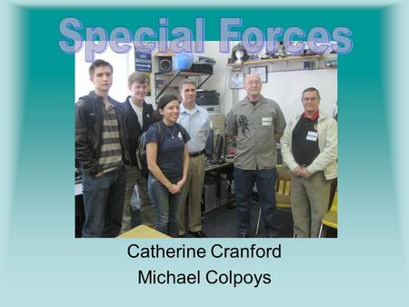 Catherine Cranford Michael Colpoys