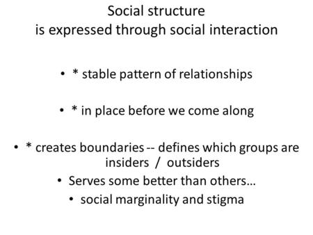 five basic patterns of social interaction Pi gamma mu, international honor society in pi gamma mu, international honor society in social sciences is of the basic patterns of social.