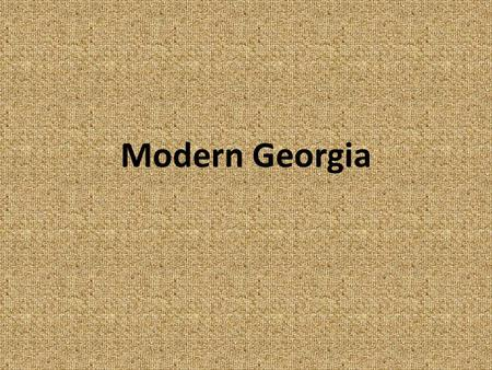 Modern Georgia. The End of the County Unit System It was created in 1917 Involved only statewide races It kept political power in the hands of rural Georgia.