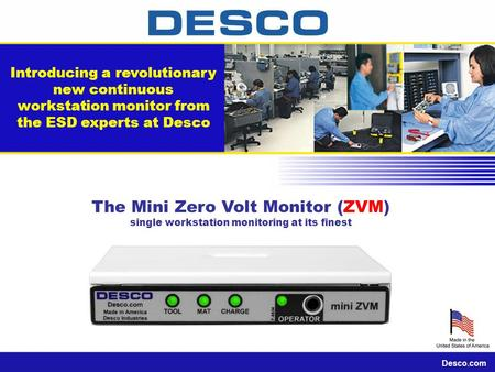 The Mini Zero Volt Monitor (ZVM)