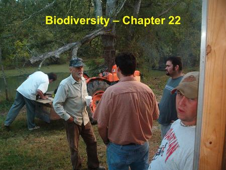 Biodiversity – Chapter 22. Biodiversity Species richness – the total number of species in an area –Simplest measure of biodiversity Heterogeneity - higher.