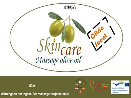 Earn's Massage Olive Oil Relaxating and Hydrating! This are the olive oil properties in the oiltherapy, where masseurs substitute regular massaging oils.