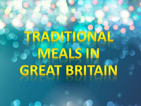 Traditional English dishes have had competition from other dishes over the years. Despite this, if you visit England, you can still be served up the traditional.