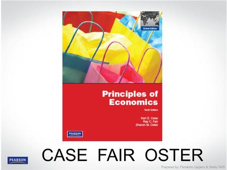 PART II The Market System: Choices Made by Households and Firms © 2012 Pearson Education Prepared by: Fernando Quijano & Shelly Tefft CASE FAIR OSTER.
