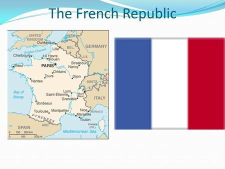 The French Republic. France Demographics 3rd largest country in Europe after Russia and Ukraine 2X the size of Great Britain, yet only 4/5 of Texas.