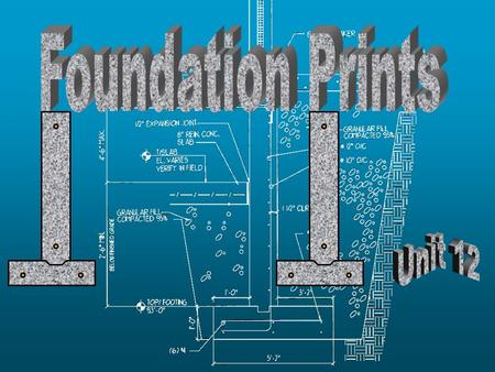 Foundation Prints Unit 12.