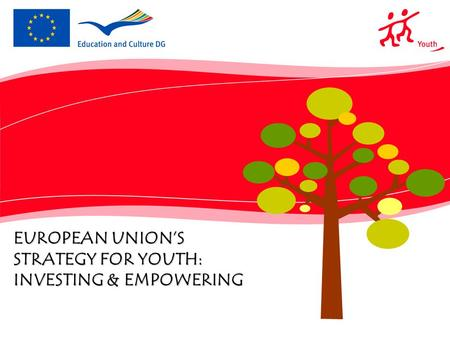 EUROPEAN UNION'S STRATEGY FOR YOUTH: INVESTING & EMPOWERING.