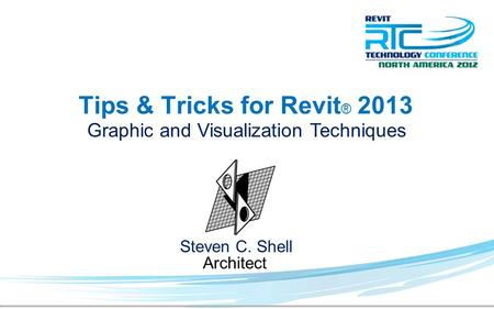 Tips & Tricks for Revit® 2013