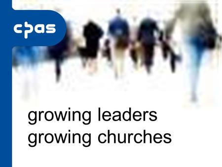 Growing leaders growing churches. What is Growing Leaders?