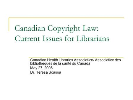 challenges in enforcing the copyright law in canada 262 fordham environmental law journal [vol v ern coast of spain to cover ten square miles of ocean - all provide vivid examples2 previously, these problems were.
