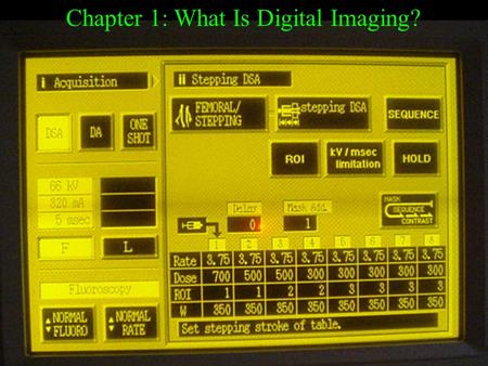Chapter 1: What Is Digital Imaging?. What is Digital Imaging? Digital Imaging is the transforming of energy: (from light photon, sonic, magnetic, x-ray,