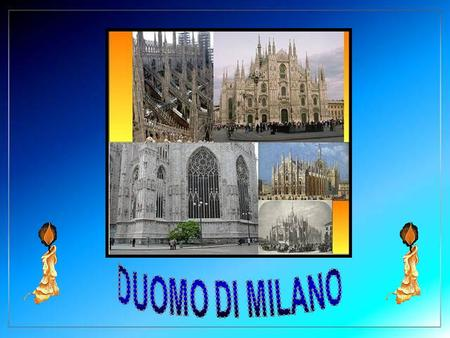 The Duomo di Milano is a Gothic Cathedral of great dimensions. It is the second largest Roman Catholic Cathedral in the world, after the Cathedral.