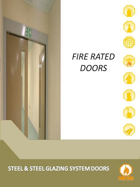 The AFD-01, part of FIRE END range of steel doors, is an economical flush door set, for most internal or external applications in commercial buildings.