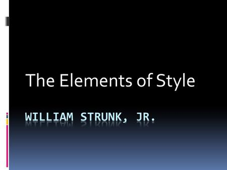 strunk and white s elements of style serial commas simplygop