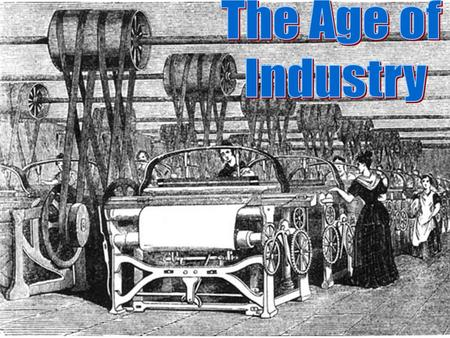 How did industry change through late 19 th century?