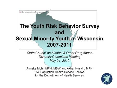 The Youth Risk Behavior Survey and Sexual Minority Youth in Wisconsin 2007-2011 State Council on Alcohol & Other Drug Abuse Diversity Committee Meeting.