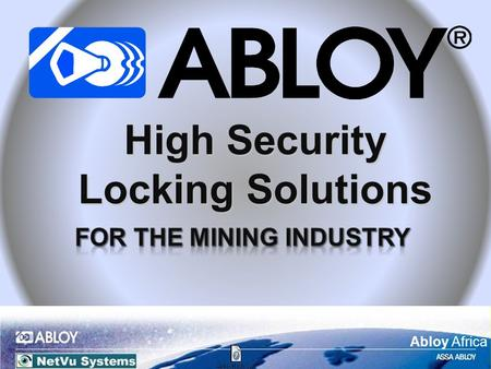 Abloy Africa High Security Locking Solutions. Abloy Africa Based in Joensuu, FinlandBased in Joensuu, Finland Abloy Africa is a fully owned subsidiary.