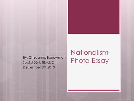 american nationalism essays