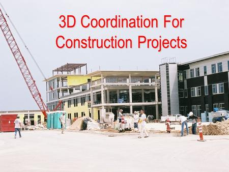3D Coordination For Construction Projects. All trades must provide their shop drawings in 3d for this coordination to work efficiently Structural HVAC.