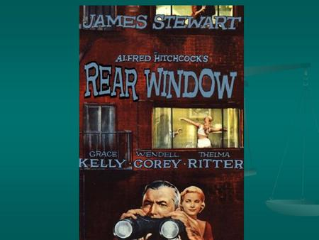 alfred hitchcock rear window essay