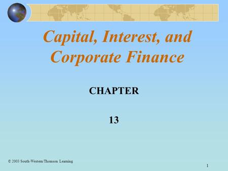 Corporate Finance, 3rd Edition
