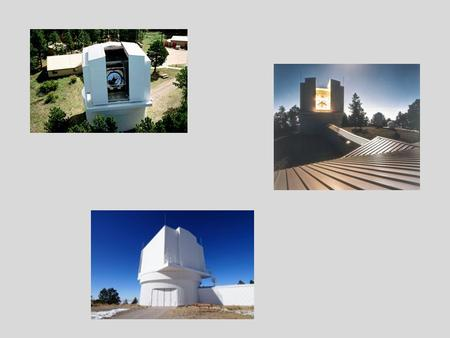 "An Ultrafast Review: Decades of the 3.5 m Telescope 1960s: several of the eventual ARC members realize that the Palomar 200"" and Lick 120"" should not."
