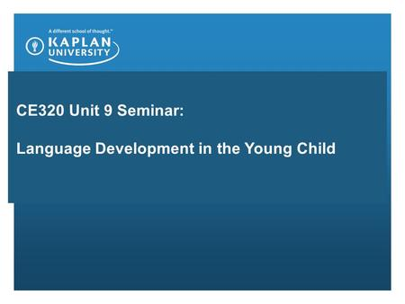 an introduction to language and cognition in child development Existing research on cognitive development in dual lan-  the language  combinations children were  the lack of consistency in the definition and  categoriza.