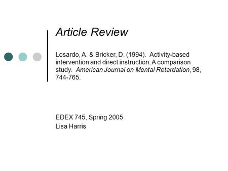 reading intervention article review Core component 5: research-based interventions presents the results of the review of mathematics, reading, and language arts intervention research studies by the center's technical review committee intervention programs.