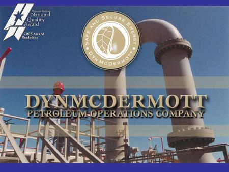 Who We Are Maintenance and Operations Contractor for the Department of Energy Strategic Petroleum Reserve.