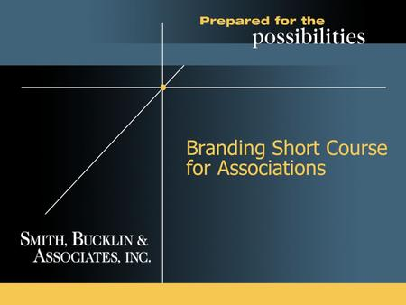 Branding Short Course for Associations. 2 What is a Brand?