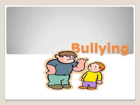 "Bullying. Definition ◦RIM=  Repeated,  Imbalance of Power, and Malicious/Intentional If incident doesn't meet the criteria to be ""bullying,"" it may."