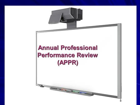 Annual Professional Performance Review (APPR). What are the components of APPR? Teacher Evaluation –60 points (observation*/goal setting) –20 points (State.