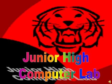 Junior High Computer Lab.