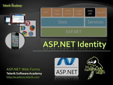 Telerik Software Academy  ASP.NET Web Forms.