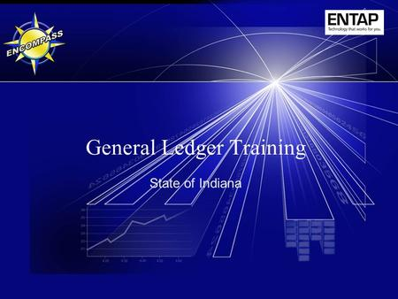 General Ledger Training State of Indiana. 2 Instructor  Theresa Anderson IOT GMIS.