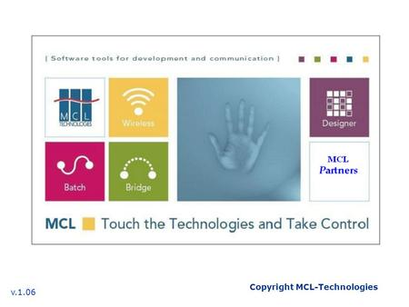 Copyright MCL-Technologies v.1.06. MCL-Collection MCL-Link.